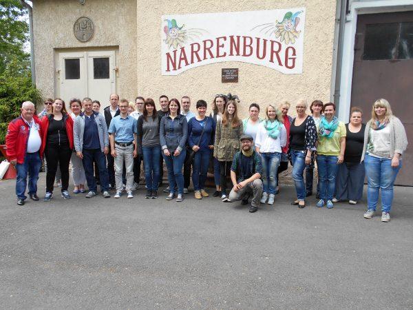 Betreuerschulung vom Landesverband Thüringer Karneval 21.05.2016 - Wasungen