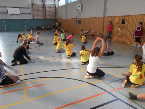 Trainingstag Kinder und Junioren 24.09.2016