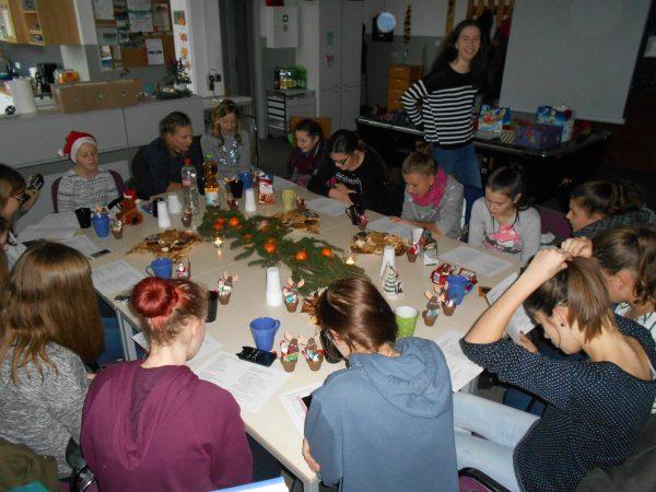 Weihnachtsfeier Junioren 26.11.2016