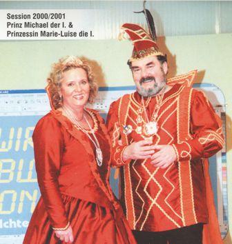 Saison 2000/2001