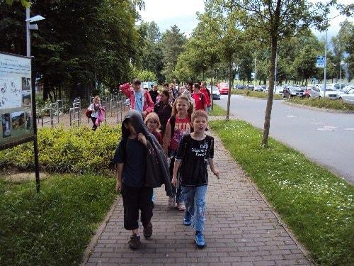 Abschlussfahrt Kinder und Jugendliche 18.06.2010