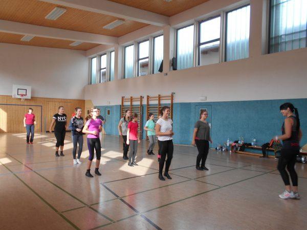 Trainingstag der Junioren- und Prinzengarde - 30.09.17 Turnhalle Ichtershausen