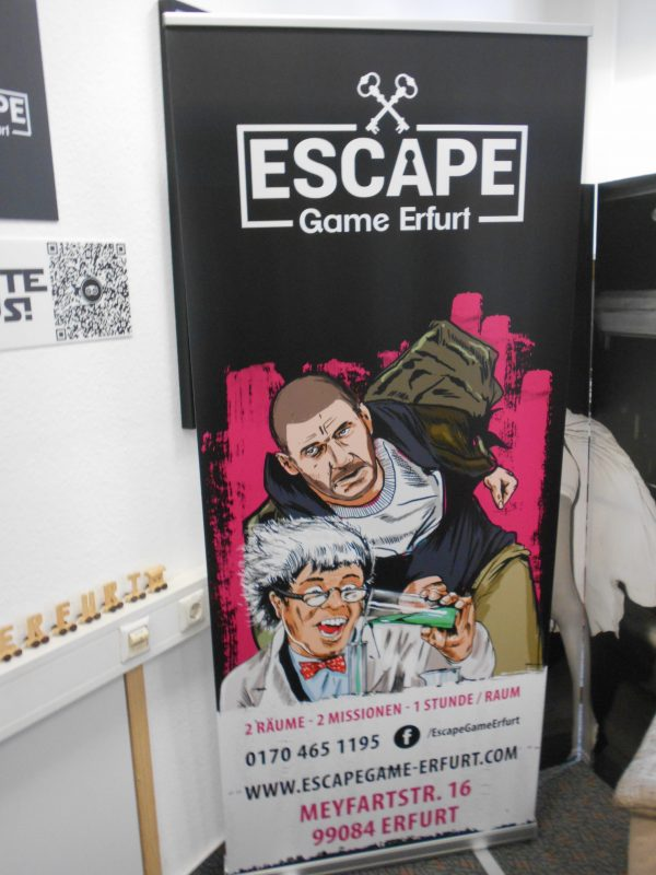 Abschluss Juniorengarde - Escape-Room Erfurt
