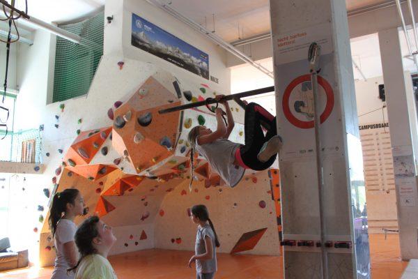 Abschluss Powerkids - Kletterpark Erfurt