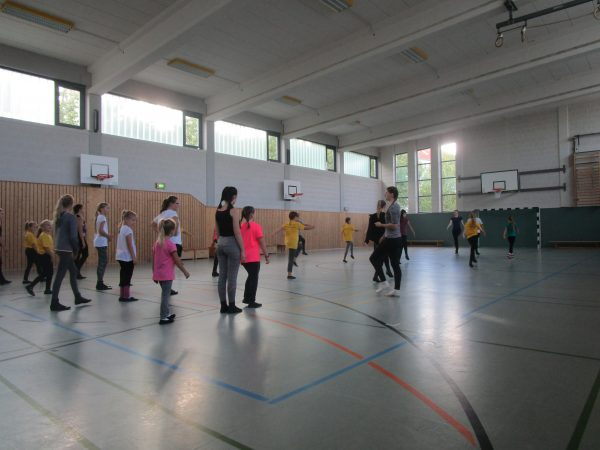 Trainingstag Purzel-, Kinder- und Juniorengarde