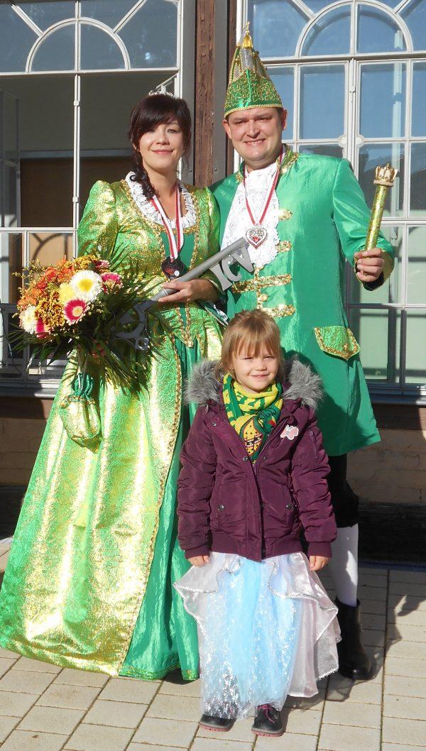 Prinzessin Jacqueline I. und Prinz Sascha I.