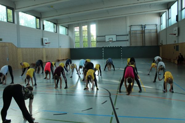 Trainingstag Purzel-, Kinder- und Juniorengarde 28.09.2019